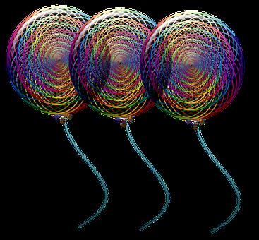 Balloons, Colorful Balloons, Birthday Balloons