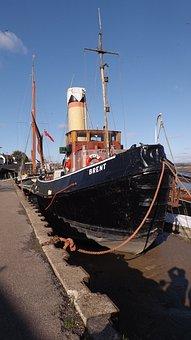 Steam, Tug, Boat, Renovation