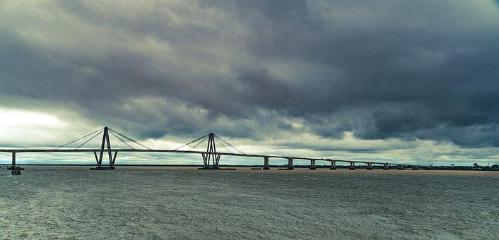 Bridge With Storm, Bridge