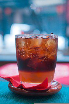 Coke, Beverage, Refreshing, Cola, Glass, Liquid