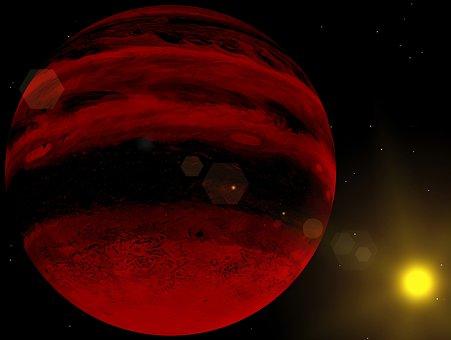 Jupiter, Planet, Space, Brown Dwarf, Sun, Cosmos, Star