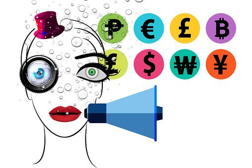 Influencer, Social Media, Currency, Money, Bubbles
