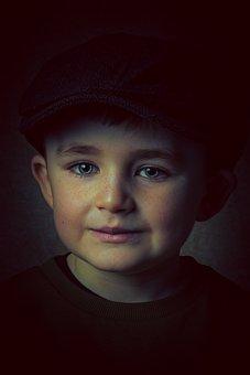 Boy, Portrait, Child, Kid, Cute, Face, Smile, Young