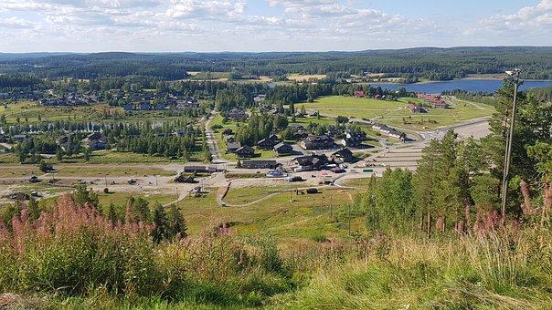 View, Landscape, Summer, Himos, Jämsä, Finland, 2020