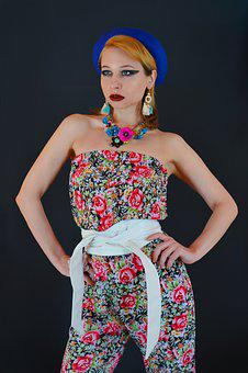Fashion, Jumpsuit, Woman, Accessories, Girl, Model