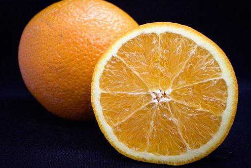 Orange, Fruit, Food, Slice, Half, Citrus Fruit