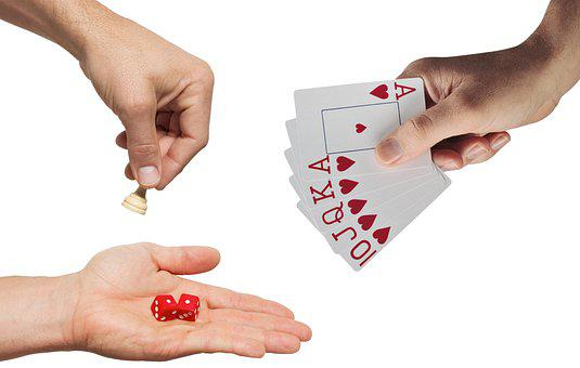 Games, Hands, Entertainment, Play, Cards, Chess, Dice