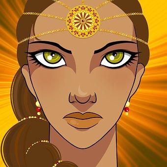 Woman, Beauty, Jewels, Fantasy, Beautiful, Fashion