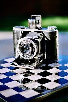 Kodak, Lens, Vintage, Film, Aperture, Bokeh, Camera