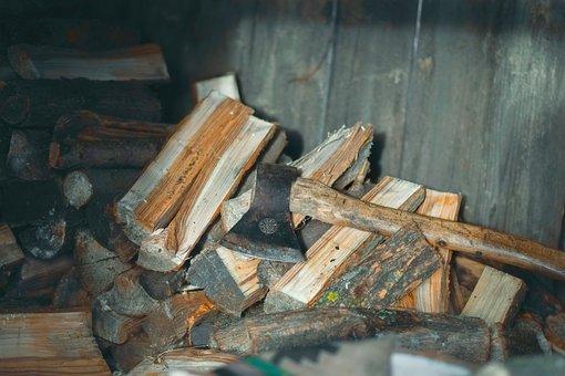 Axe, Firewood, Ax, Tool, Lumberjack