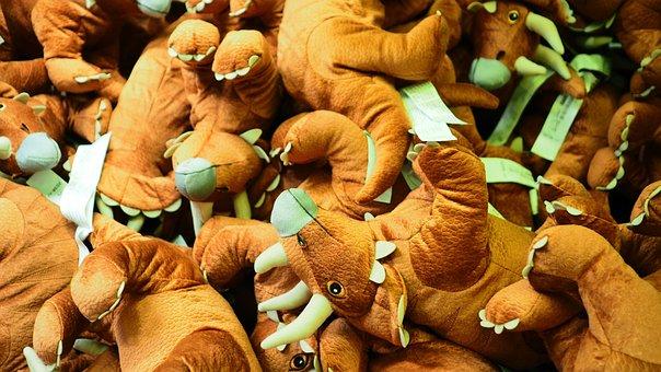 Dinosaurs, Toys, Plush Toys, Plushies, Soft Animal