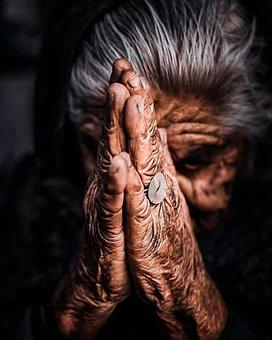 Praying, Hands, Gesture, Faith, Religion, Old, Prayer