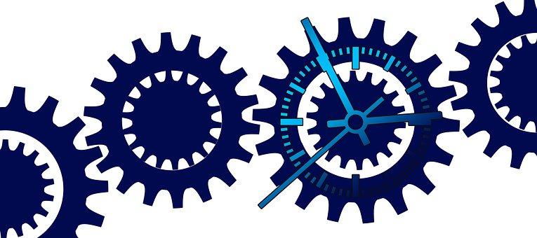 Gears, Clock, Process, Process Optimization