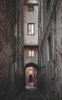 Urban, Outdoor, Old, Nobody, Alley, Street, Road