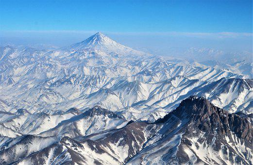 Mount Damavand, Damavand, Damavand Volcan, Iran, Rocky
