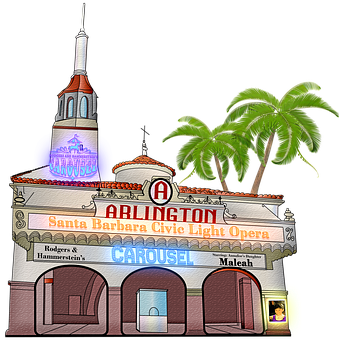 Theater, Santa Barbara, Arlington, Movie, Show, Drama