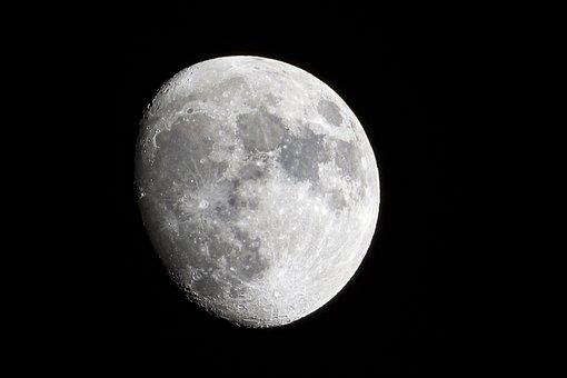 Moon, Astro, Satelite, Night, Space, Universe, Dark