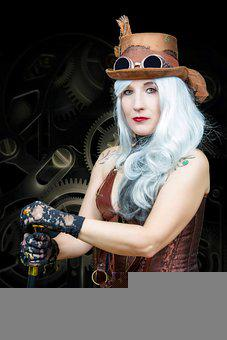 Steampunk, Fashion, Lady, Victorian, Vintage, Woman