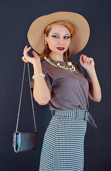 Woman, Fashion, Style, Portrait, Accessories, Jewelries