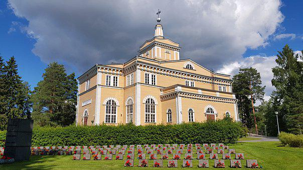 Church, Rautalampi, Finland, Europe, Summer, 2020