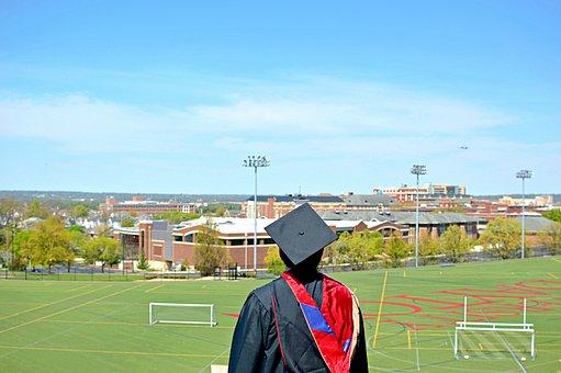 Graduate, Sky, Graduation, Summer, College, University