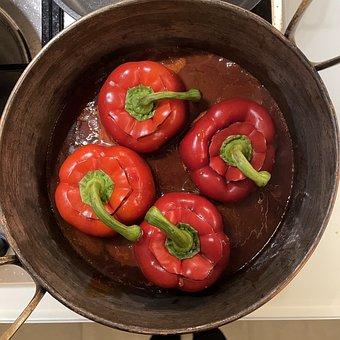 Paprika, Vegetables, Cook, Food, Healthy, Vegan