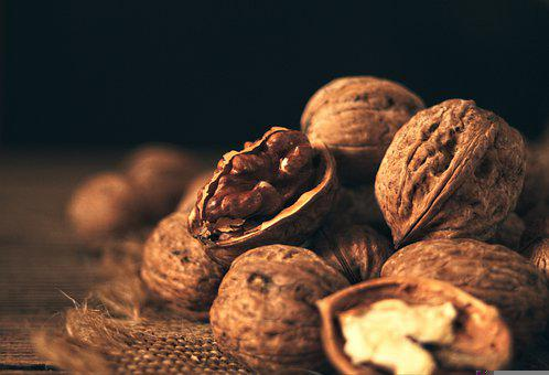 Nuts, Walnuts, Food, Snack, Produce, Nutrition, Healthy