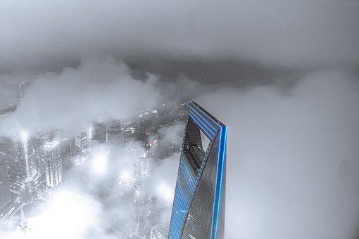 Shanghai, World Financial Center, Tall Buildings