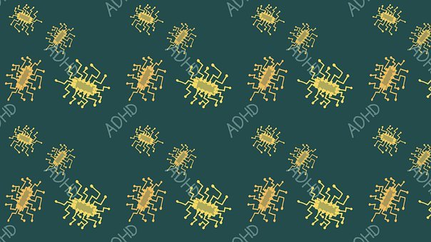 Computer Chip, Adhd, Background, Pattern, Chip