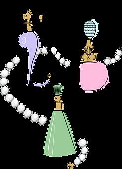 Perfume, Bottle, Aroma, Cosmetics, Feminine, Beauty