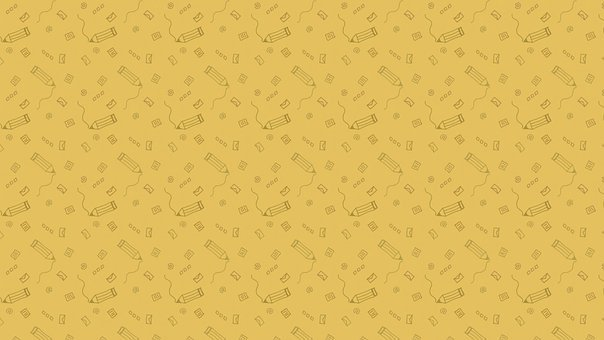 Stationery, Pencil, Background, Pattern, Wallpaper