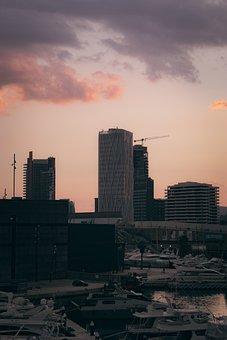 Building, Sunset, Architecture, Castle, Skyline, London