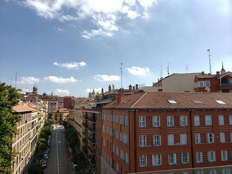Madrid, City, Spain, Architecture, Urban, Building