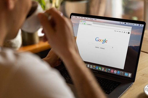 Freelance, Work, Google, Macbook, Drinking Coffee