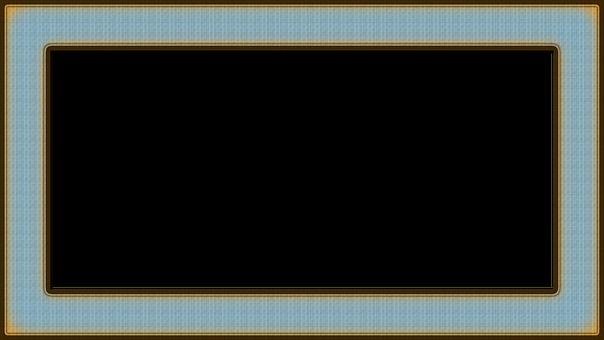 Frame, Decorative, Scrapbook, Picture Frame, Blue