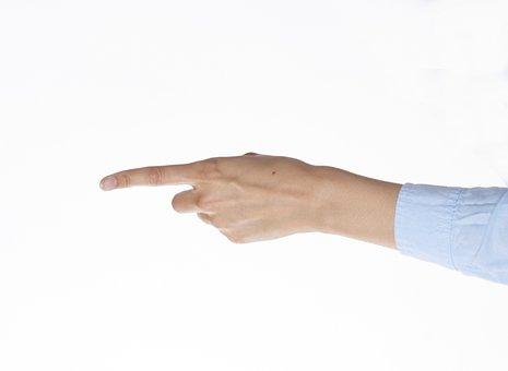 Pointing, Hand, Gesture, Finger, Index Finger
