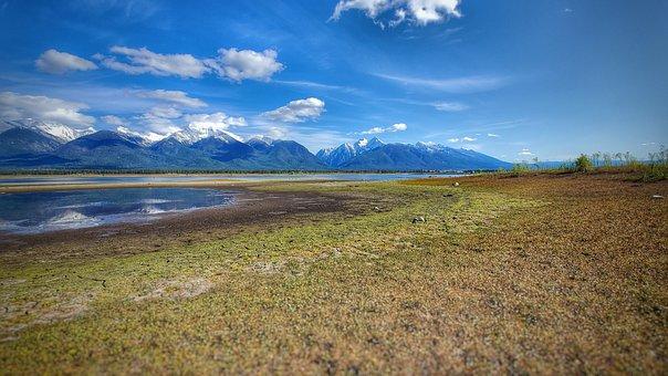 Mission Mountains, Kicking Horse Reservoir, Reservoir