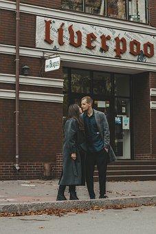 любовь, пара, Love, Romance, Happy, Man, Kiss, Lovers