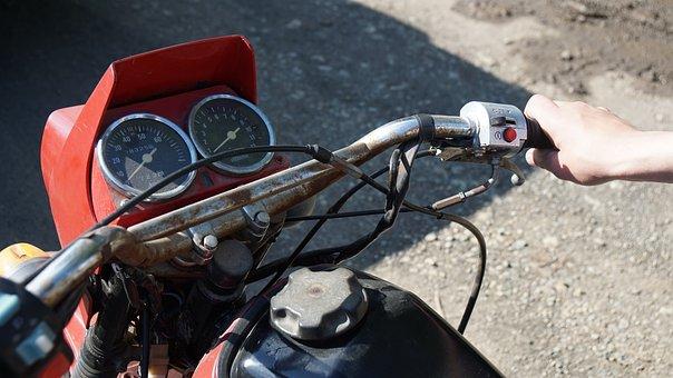 Motorcycle, Moped, Transport, Biker, Motocross, Speed
