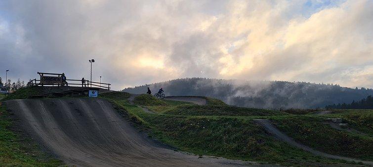Road, Park, Biking, Winterberg, Leisure, Fun, Nature