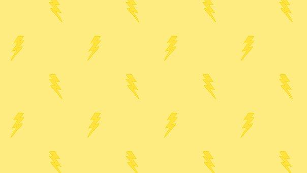Digital Paper, Lightning, Doodle, Pattern, Background