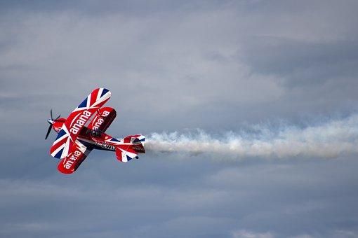 Airshow, Plane, Aviation, Military, Airforce, Airplane