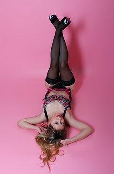 Woman, Model, Portrait, Lingerie, Lingerie Model