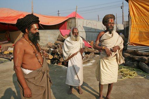 India, Varanasi, Religion, Hindu, Sadhu, Ganga, People