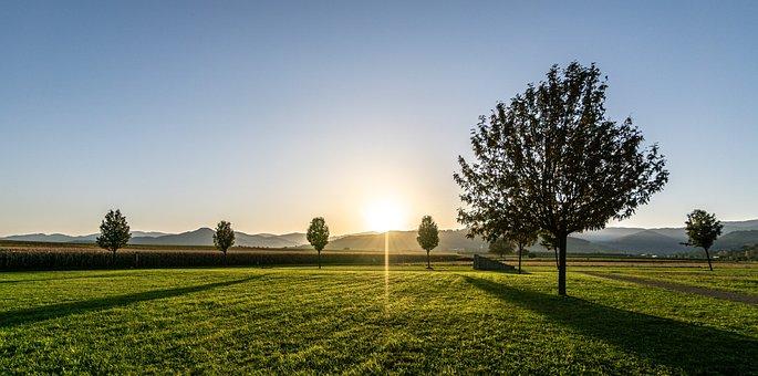Sunrise, Morning, Nature, Landscape, Sun, Rest, Sky