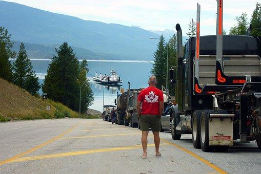 Truck, Vehicle, Traffic, Transport, Road, Auto