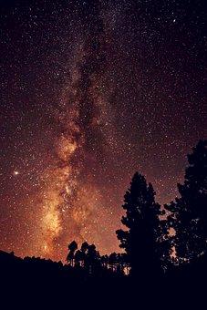 Night, Night Sky, Stars, Space, Sky, Galaxy, Universe