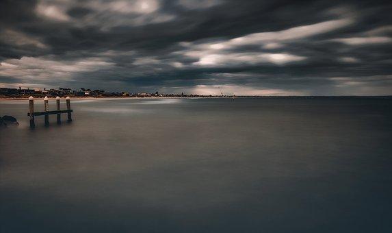 Sea, Beach, Ocean, Nature, Sky, Water, Sunset, Sand