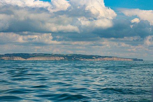Coastline, Sea, Sky, Cloud, Seascape, Nature, Water