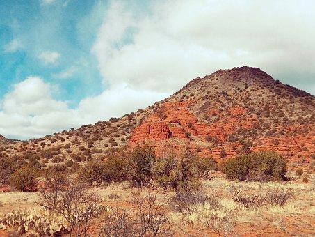 Southwest, Arizona, Sedona, Red, Nature, Landscape